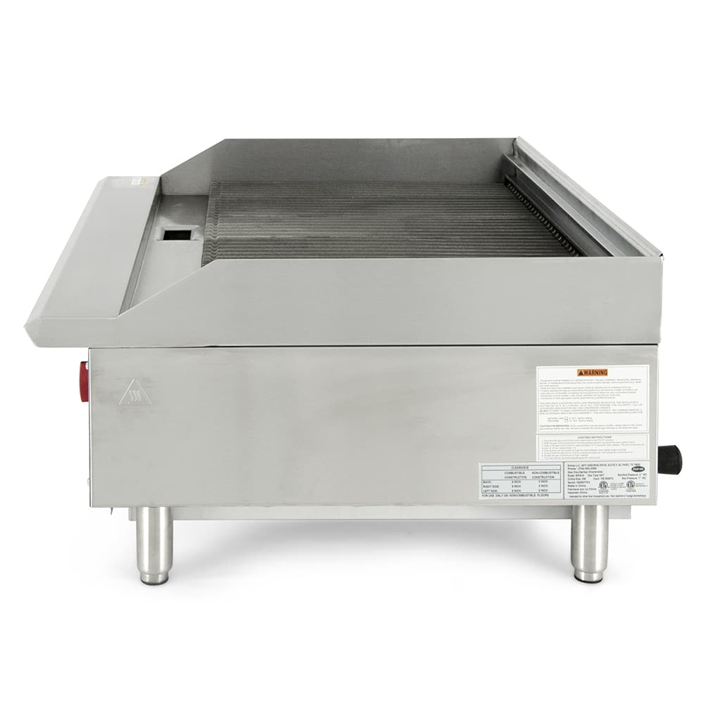 "eQuipped BR36 36"" Gas Charbroiler w/ Cast Iron Grates, NG"