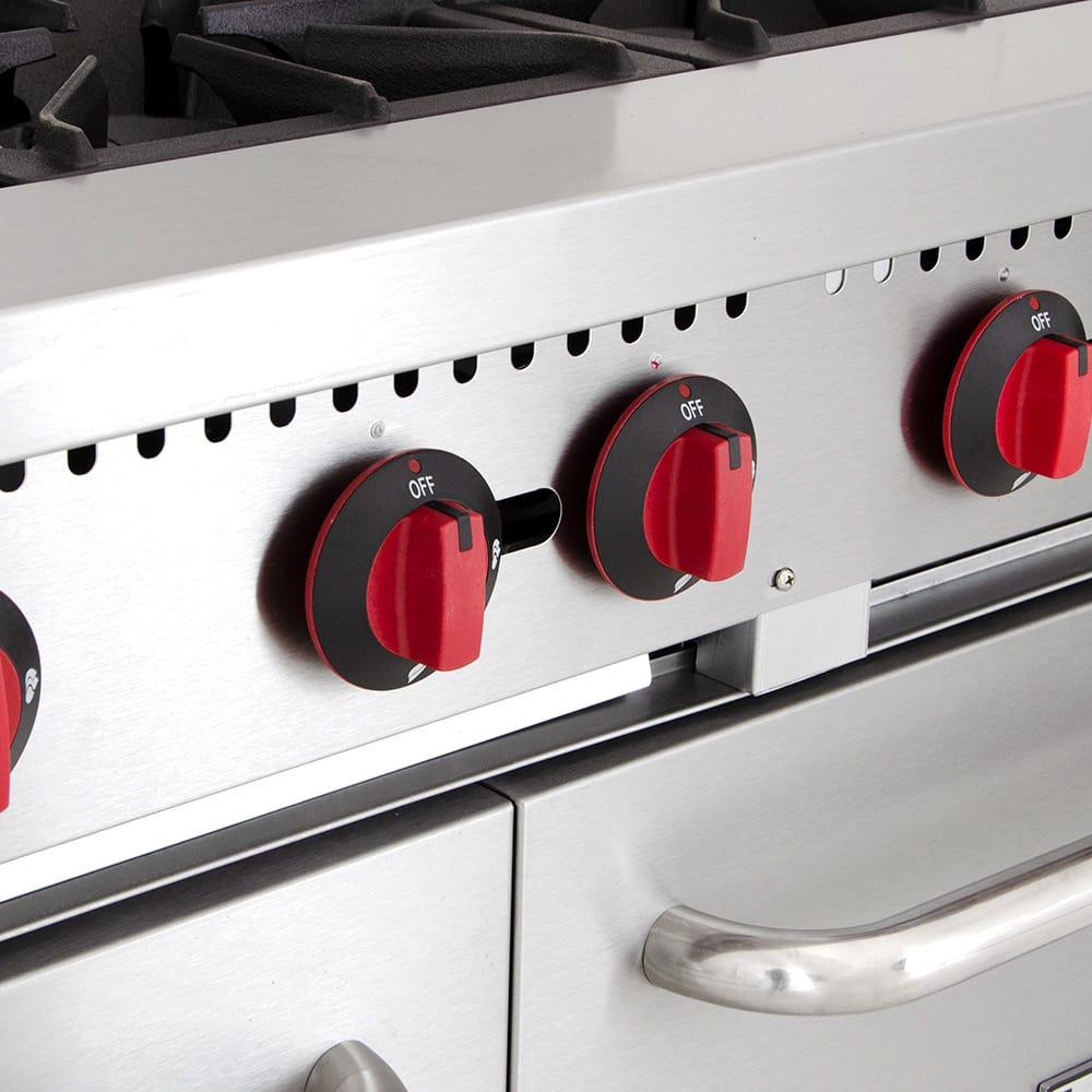 "eQuipped R10 60"" 10 Burner Gas Range w/ (2) Standard Ovens, NG"