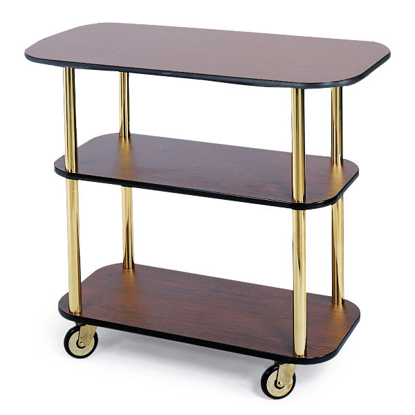 Geneva 36100 Rectangular  Dessert Cart w/ Multi-Tiered Design