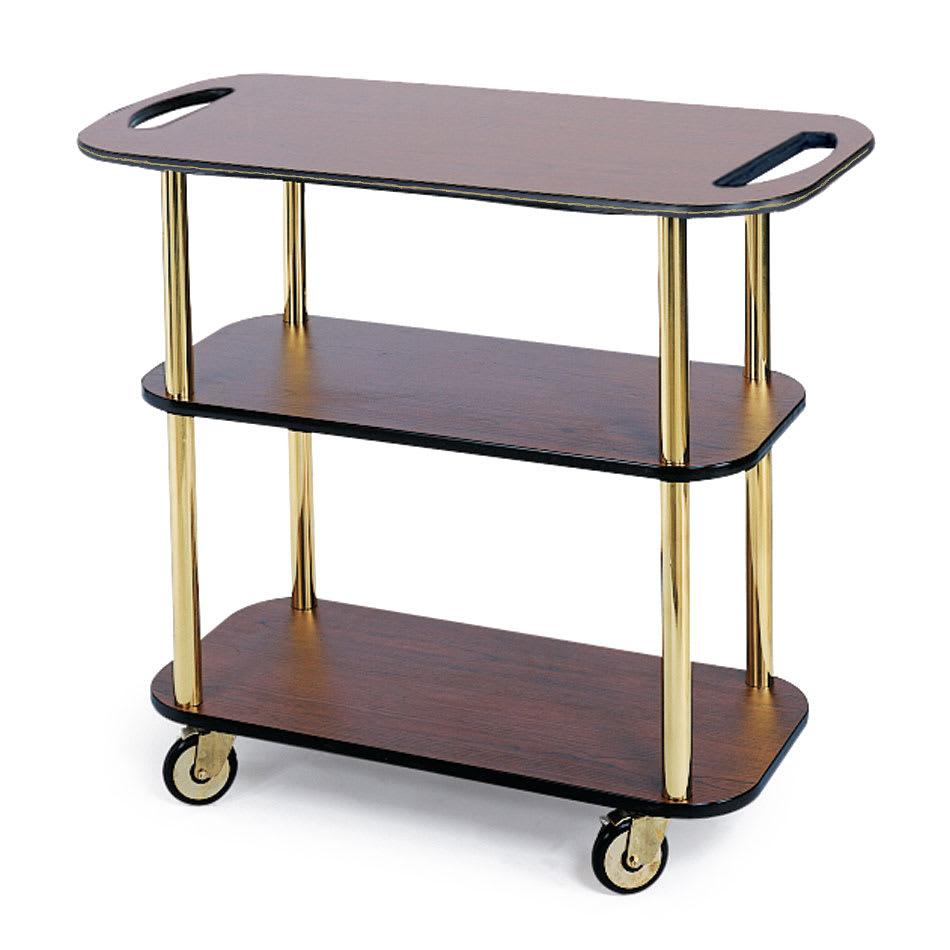 Geneva 36104 Rectangular  Dessert Cart w/ Multi-Tiered Design