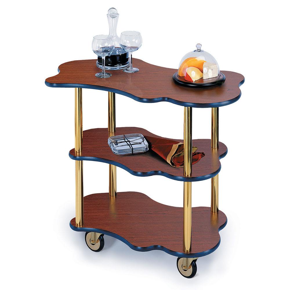 Geneva 36400 Oval Dessert Cart w/ Multi-Tiered Design