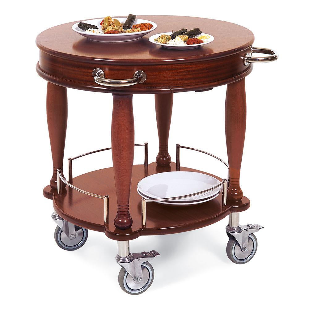 Geneva 70029 Round Dessert Cart w/ Multi-Tiered Design
