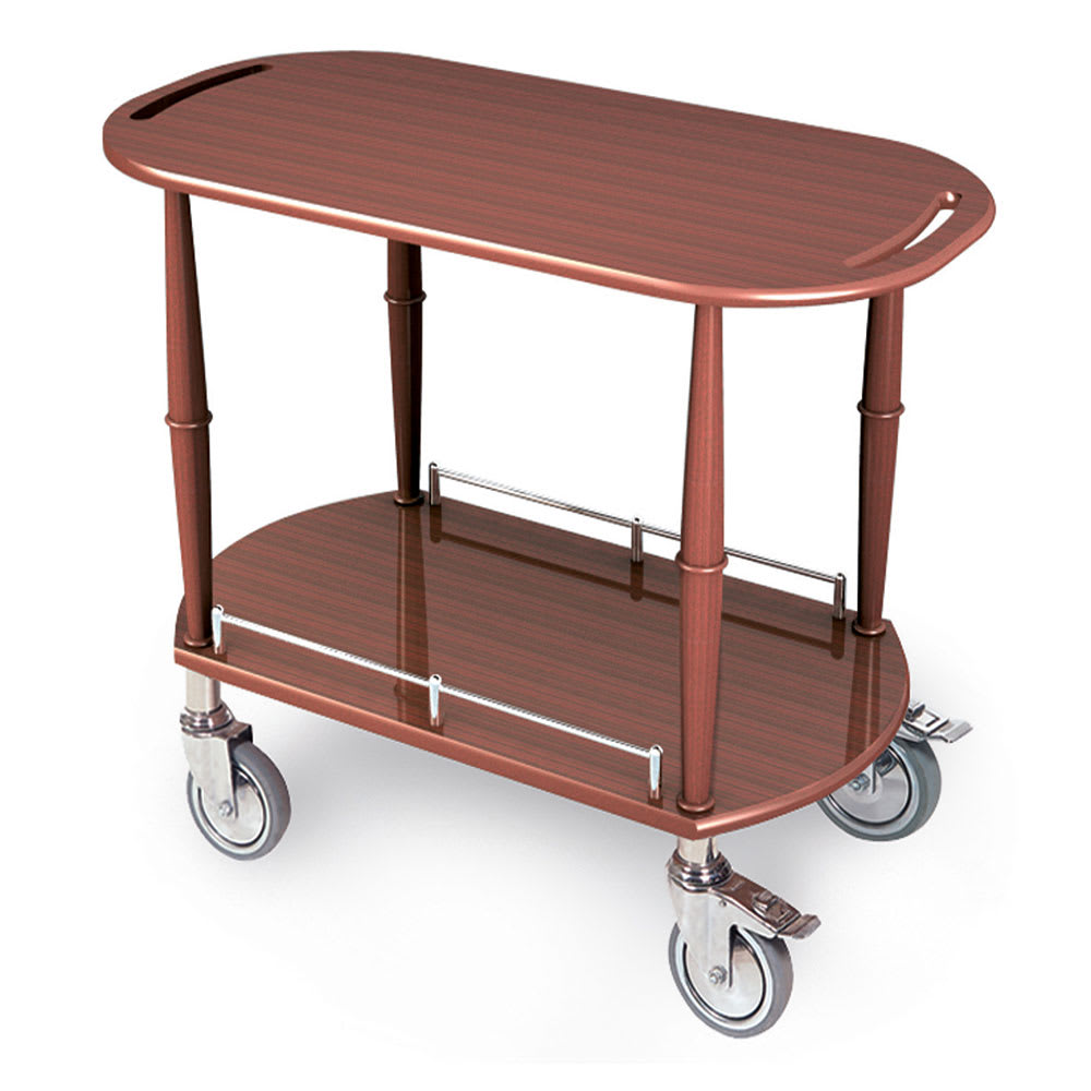 Geneva 70524 Oval Dessert Cart w/ Multi-Tiered Design