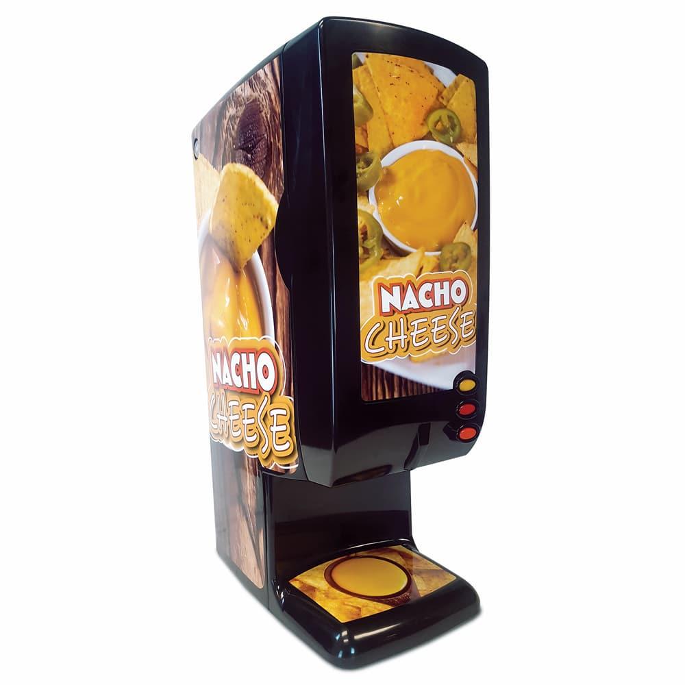 Global Solutions GS1555 Nacho Cheese Dispenser w/ (2) 140 oz Bag Capacity, 120v