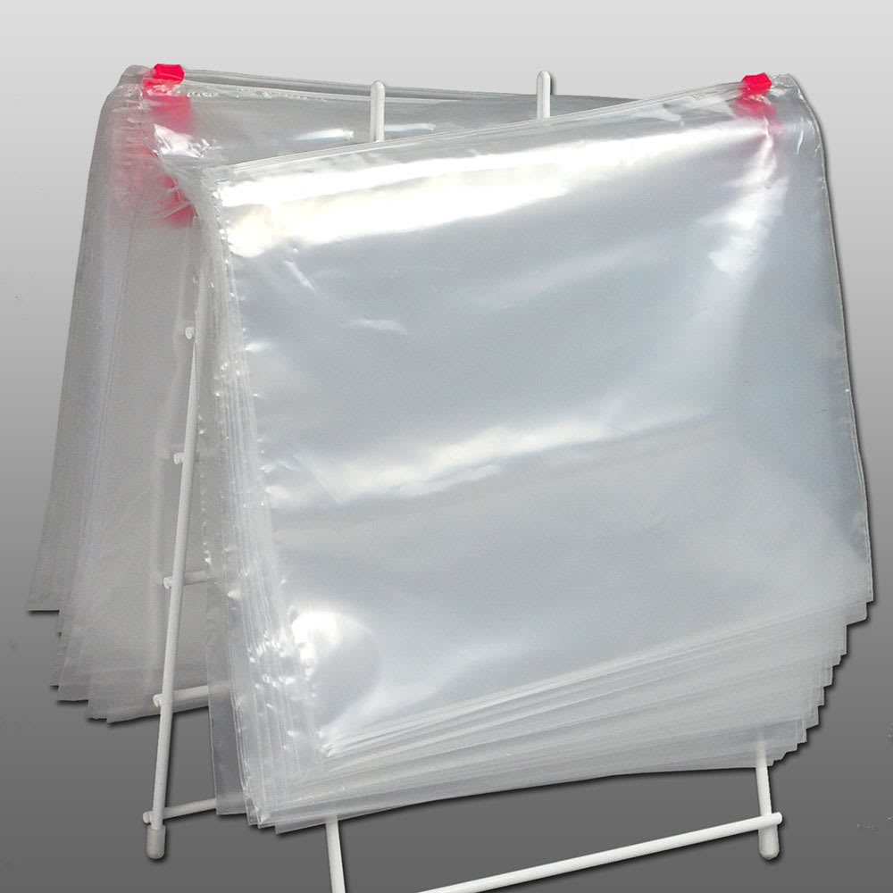 "Elkay Plastics FSL108 Slide-Seal Deli Bag - 10"" x 8"", Poly"