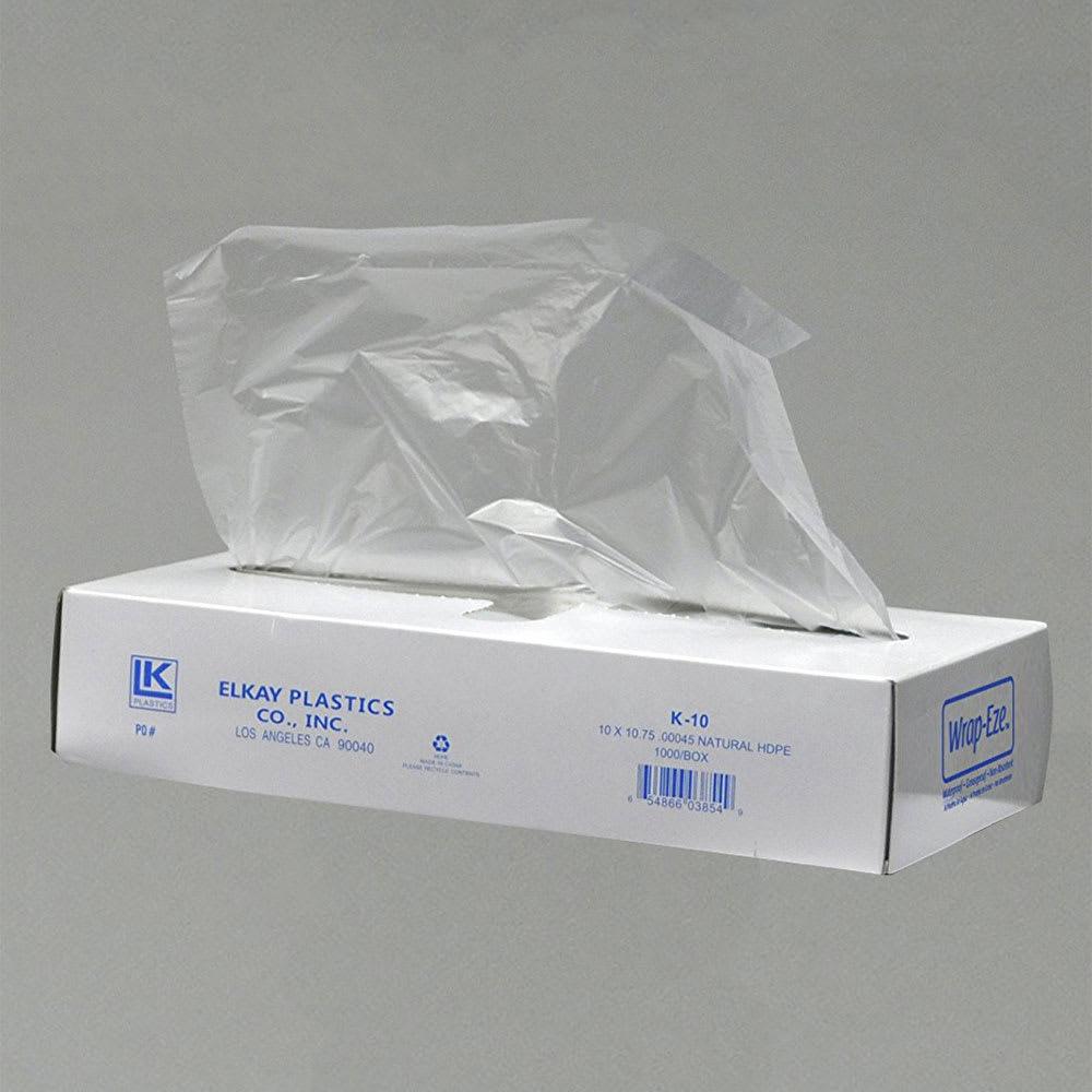 "Elkay Plastics K-8 Wrap-Eze™ Pop-Up Sheets - 10.75"" x 8"", Poly"