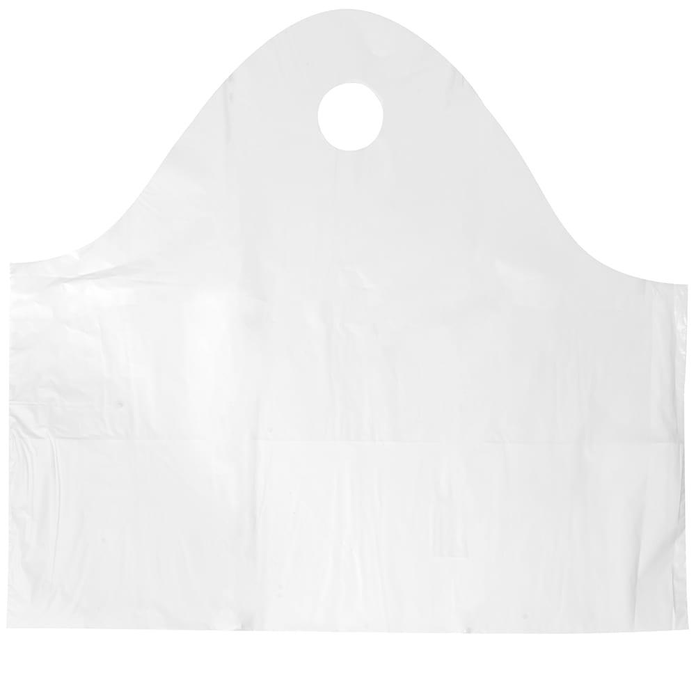 "Elkay Plastics TO242011 Poly Take-Out Bag w/ Handles - 24"" x 20"" x 11"", White"