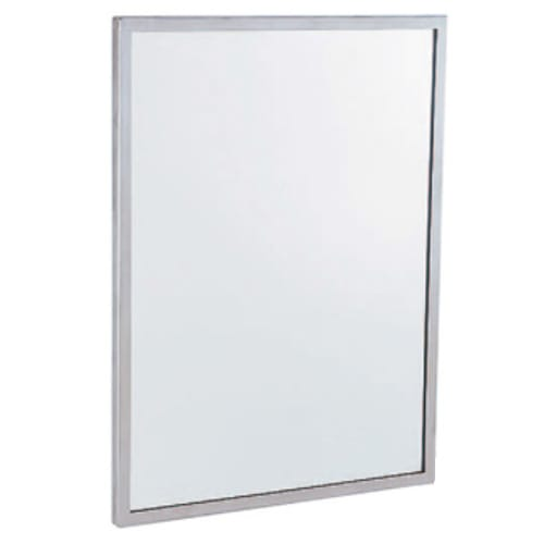 Gamco C 18x36 Channel Frame Mirror 18 Quot X 36 Quot Galvanized