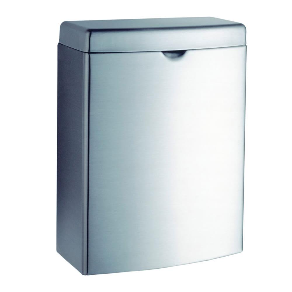 Tremendous Gamco Nd 1 Surface Mounted Sanitary Napkin Disposal 1 Gal Satin Stainless Ncnpc Chair Design For Home Ncnpcorg