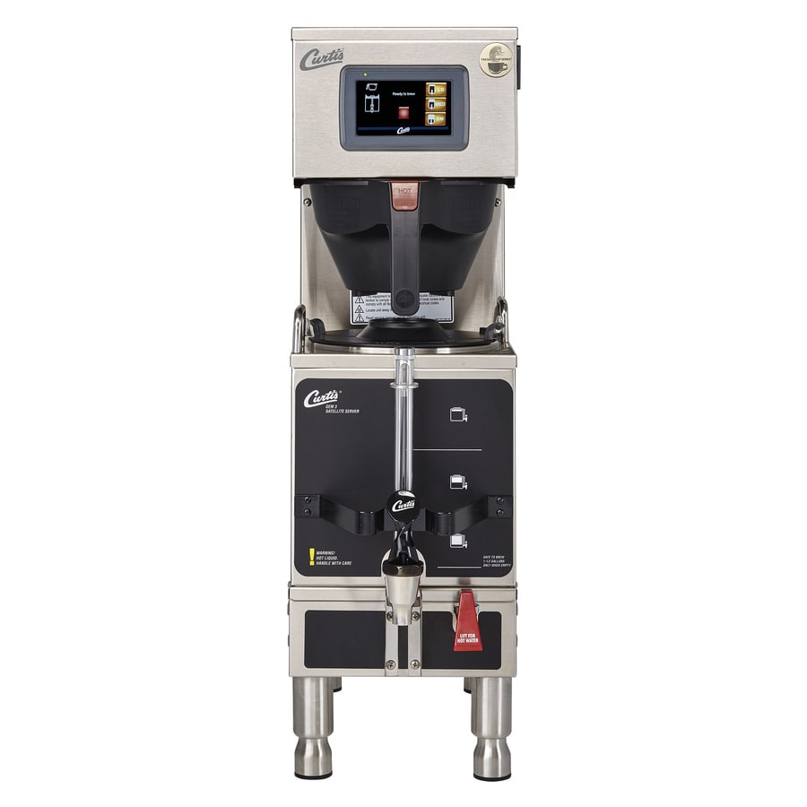 4110e5506 Curtis G4GEMS63A1000 Automatic Satellite Coffee Brewer w/ 1.5 gal ...