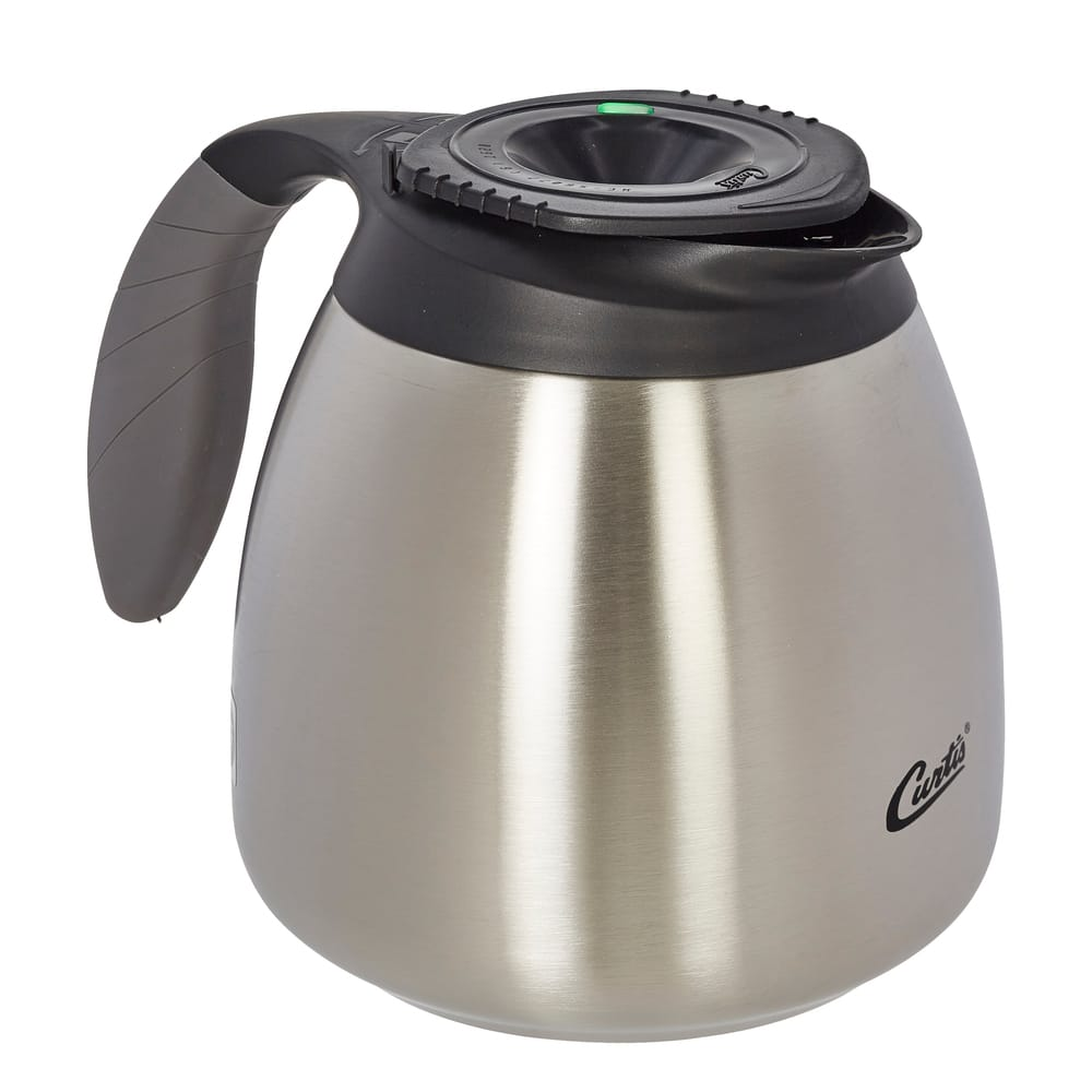 Curtis TFT642H 64 oz Regular Thermal FreshTrac® Coffee Decanter w/ Programmable Timer
