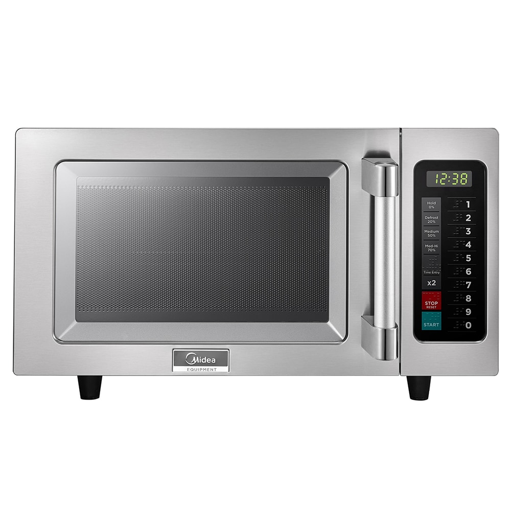 Midea 1025F1A 1000w Commercial Microwave with Touch Pad, 120v